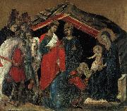 Duccio di Buoninsegna The Maesta Altarpiece oil painting artist